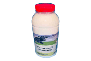 Fles karnemelk 1 liter