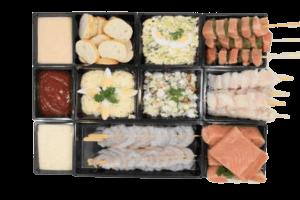 Bbq-pakket alles in een vis