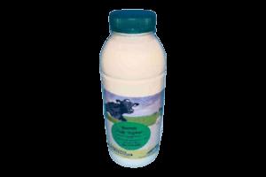 Fles halfvolle yoghurt 1 liter